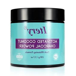 Teeth Whitening Activated Charcoal Powder ITERY Natural Acti