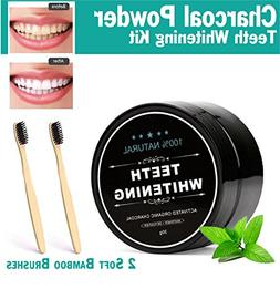 Natural Teeth Whitening 100% Organic Activated Charcoal Toot