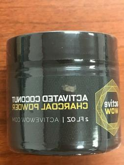 Active Wow Teeth Whitening Activated Coconut Charcoal Powder