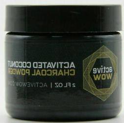 Active WOW Teeth Whitening Charcoal Powder Natural 2fl Oz 59