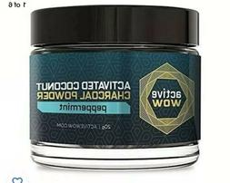 Teeth Whitening Charcoal Powder Peppermint by Active Wow - 2