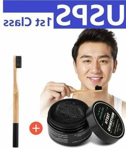 Teeth Whitening Powder Bamboo Activated Charcoal Teethpaste