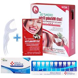 Teeth Whitening Strips Professional Activated Charcoal Powde