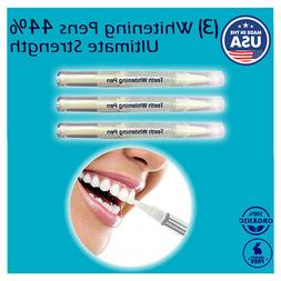 Ultimate Strength 44% Peroxide Teeth Whitening Pen Tooth Cle